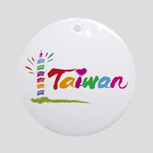 Taiwan Ornament (Round)