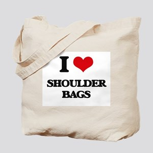 I Love Shoulder Bags Tote Bag