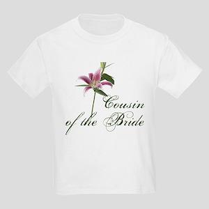 Cousin of the Bride Kids Light T-Shirt