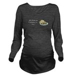 Christmas Pie Long Sleeve Maternity T-Shirt