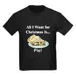 Christmas Pie Kids Dark T-Shirt