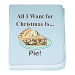 Christmas Pie baby blanket