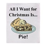 Christmas Pie Throw Blanket