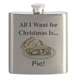 Christmas Pie Flask