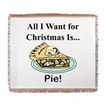 Christmas Pie Woven Blanket