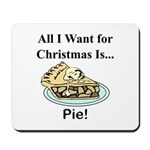 Christmas Pie Mousepad