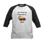 Christmas Pie Kids Baseball Jersey