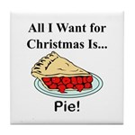 Christmas Pie Tile Coaster