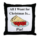 Christmas Pie Throw Pillow