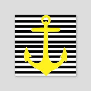 Yellow Anchor Sticker