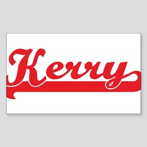Kerry (retro-sport-red) Rectangle Sticker