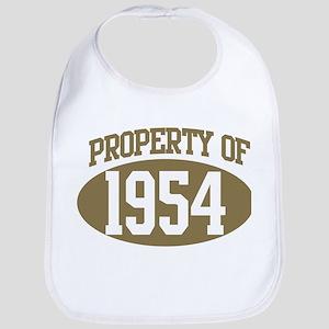 Property of 1954 Bib