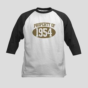Property of 1954 Kids Baseball Jersey