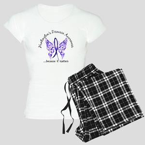 Huntington's Butterfly 6.1 Women's Light Pajamas
