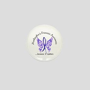 Huntington's Butterfly 6.1 Mini Button