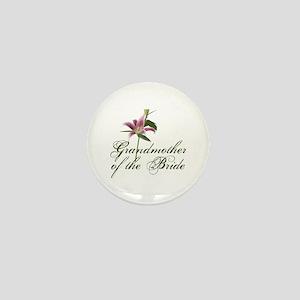 Grandmother of the Bride Mini Button