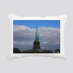 Statue of Liberty NYC Rectangular Canvas Pillow