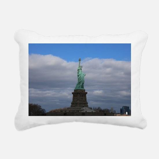 Statue of Liberty NYC Rectangular Canvas Pillow