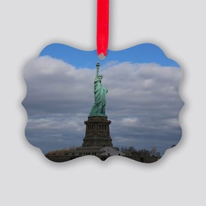 Statue of Liberty NYC Picture Ornament