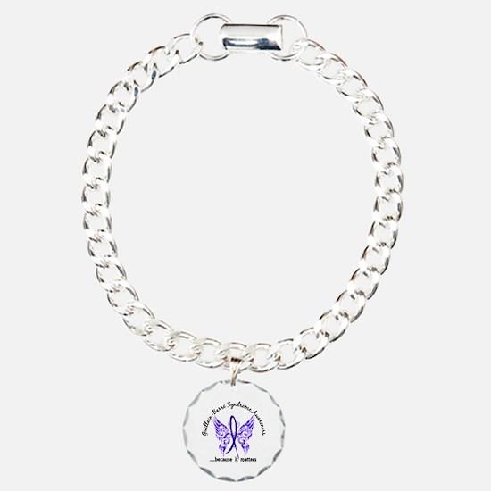 Guillain Barre Butterfly Charm Bracelet, One Charm