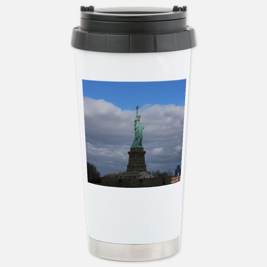 Statue of Liberty NYC Stainless Steel Travel Mug