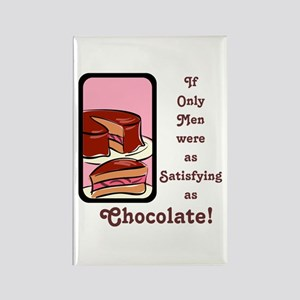 Mmm Chocolate... Rectangle Magnet