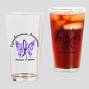 Dysautonomia Butterfly 6.1 Drinking Glass