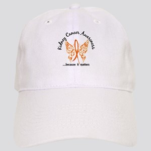Kidney Cancer Butterfly 6.1 Cap