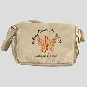 Kidney Cancer Butterfly 6.1 Messenger Bag