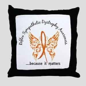 RSD Butterfly 6.1 Throw Pillow
