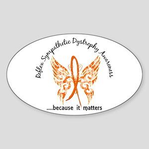 RSD Butterfly 6.1 Sticker (Oval 10 pk)