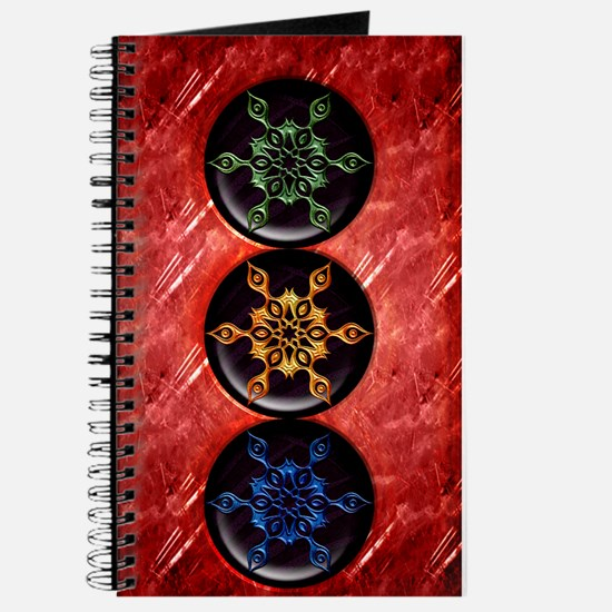 Harvest Moons Snowflakes Journal