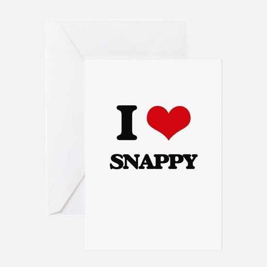 I love Snappy Greeting Cards