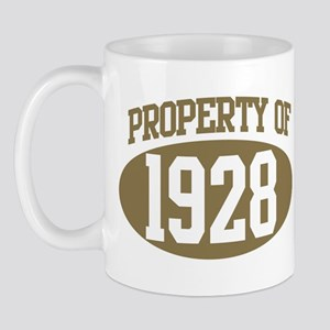 Property of 1928 Mug