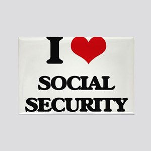 I love Social Security Magnets
