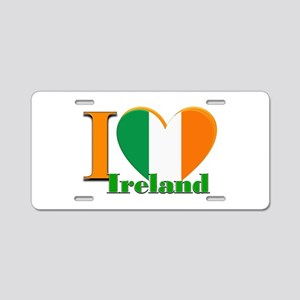 I love Ireland Aluminum License Plate