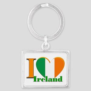 I love Ireland Landscape Keychain