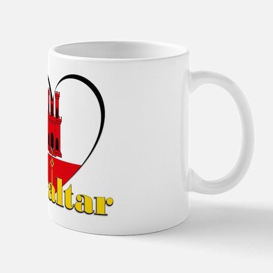 I Love Gibraltar Mug Mugs