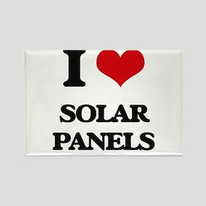 I Love Solar Panels Magnets