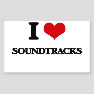 I love Soundtracks Sticker