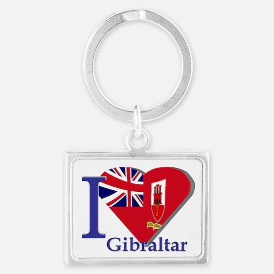 I love Gibraltar CE Landscape Keychain