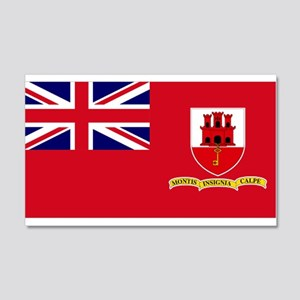 Andorra Flag 20x12 Wall Decal