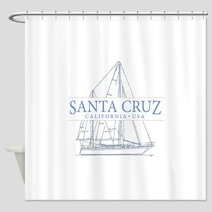 Santa Cruz CA - Shower Curtain