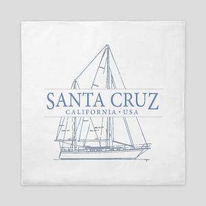 Santa Cruz CA - Queen Duvet