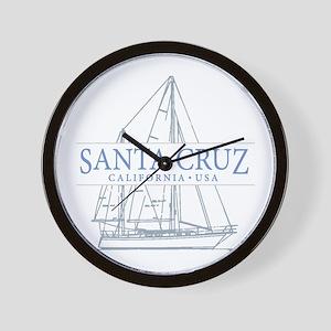 Santa Cruz CA - Wall Clock