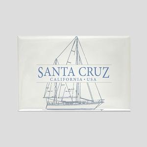 Santa Cruz CA - Rectangle Magnet