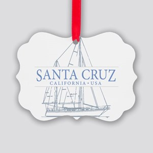 Santa Cruz CA - Picture Ornament
