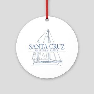 Santa Cruz CA - Ornament (Round)