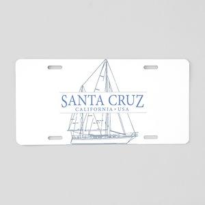 Santa Cruz CA - Aluminum License Plate
