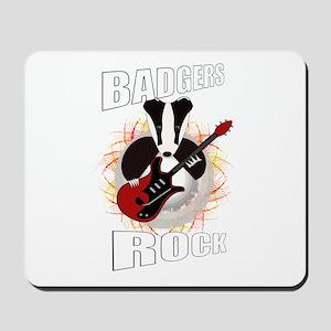 rocking badger Mousepad